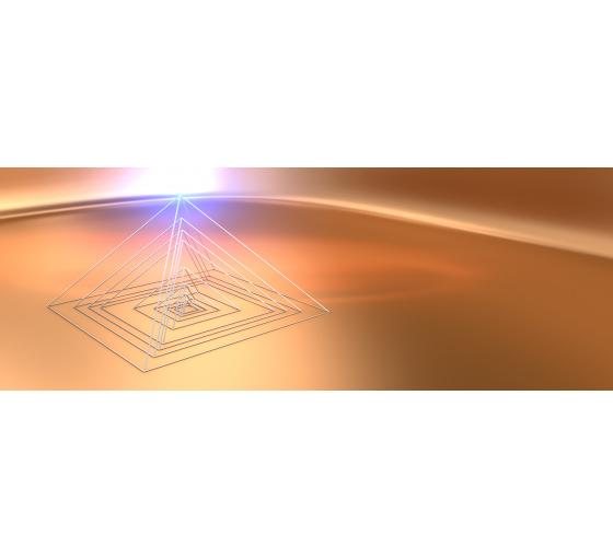 Pyramid, base dimension 1158x1158